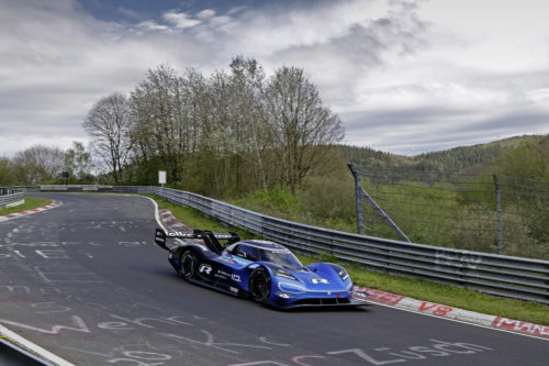 Volkswagen ID.R on the Nordschleife: High-tech meets tradition
