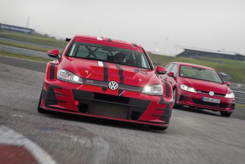 Nouveau design pour la Golf GTI TCR